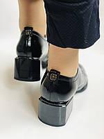 Женские осенние глубокие туфли. Натуральная лакированная кожа . Molka. 36,37,38,39,40,41, фото 9