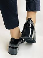 Женские осенние глубокие туфли. Натуральная лакированная кожа . Molka. 36,37,38,39,40,41, фото 5