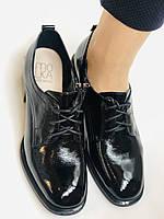 Женские осенние глубокие туфли. Натуральная лакированная кожа . Molka. 36,37,38,39,40,41, фото 6