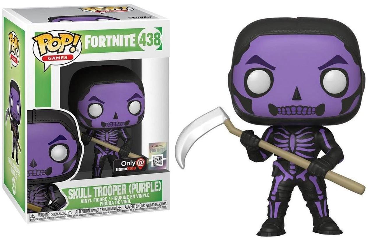 Купить Фигурка ExclusiveFunko Pop Fortnite Skull Trooper PurpleФортнайт Скулл Трупер FN STР438