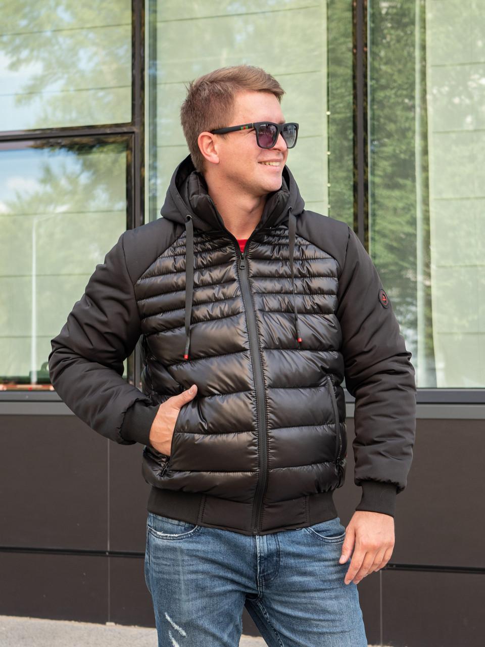 Недорогие зимние куртки мужские  от производителя  48-56  черный