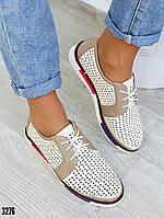 Женские закрытые туфли, кожаная стелька, фото 1