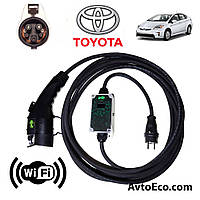 Зарядное устройство для электромобиля Toyota Prius Plug-in Hybrid AutoEco J1772-16A-Wi-Fi