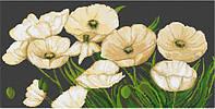 """Набор для вышивания крестом """"Luca-s"""" B274 Белые маки"""