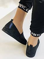 Стильные женские туфли-слипоны . Натуральная кожа.Турция.36-40 Vellena, фото 2
