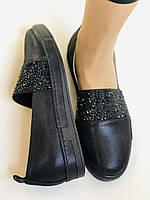 Стильные женские туфли-слипоны . Натуральная кожа.Турция.36-40 Vellena, фото 7