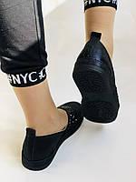 Стильные женские туфли-слипоны . Натуральная кожа.Турция.36-40 Vellena, фото 5