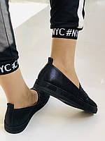 Стильные женские туфли-слипоны . Натуральная кожа.Турция.36-40 Vellena, фото 6