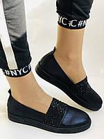 Стильные женские туфли-слипоны . Натуральная кожа.Турция.36-40 Vellena, фото 8