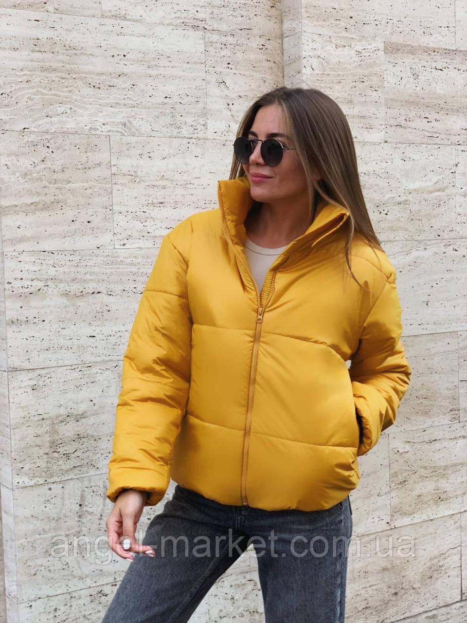 Зимняя женская  куртка с воротником стойка .Новинка 2020