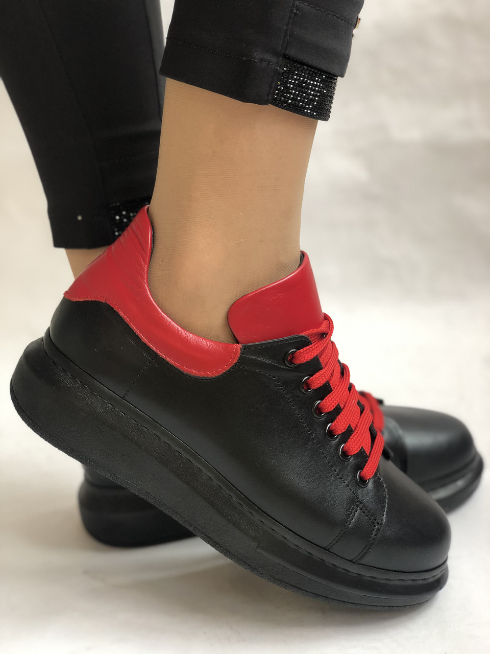 Хит! Женские кроссовки высокого качества.Турция.Evromoda.Натурольная кожа.Р. 37. Vellena
