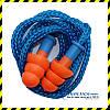 Беруші багаторазові Deltaplus Conisfir050 + шнурок, Франція. SNR 29dB! Хв. замовлення 30 пар.