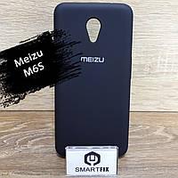 Силиконовый чехол для Meizu M6s Soft Черный