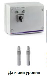 """Пульты управления для однофазных скважинных насосов 4"""" с датчиками уровня тип QSM"""