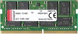 Оперативная память для ноутбука Kingston DDR4 2400 16GB SO-DIMM (KVR24S17D8/16)