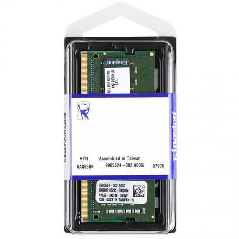 Оперативная память для ноутбука Kingston DDR4 2400 4GB SO-DIMM (KVR24S17S6/4), фото 2