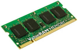 Оперативная память для ноутбука Kingston DDR3 1600 2GB SO-DIMM (KVR16LS11S6/2)
