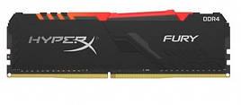 Оперативная память для ПК HyperX DDR4 3600 8GBx2 KIT Fury RGB (HX436C17FB3AK2/16)