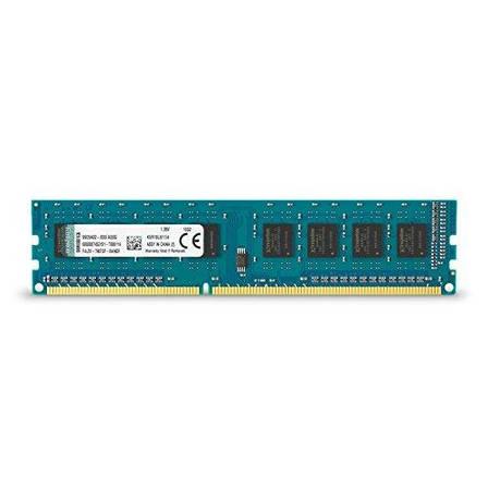 Оперативна пам'ять для ПК Kingston DDR3 1600 4GB (KVR16LN11/4), фото 2