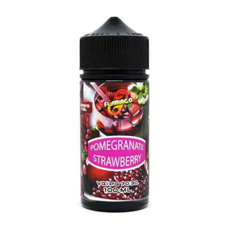 Премиум жидкость Flamingo - Pomegranate Strawberry 100ml