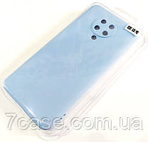Чехол для Xiaomi Redmi K30 Pro матовый Silicone Case Full Cover Macarons Color