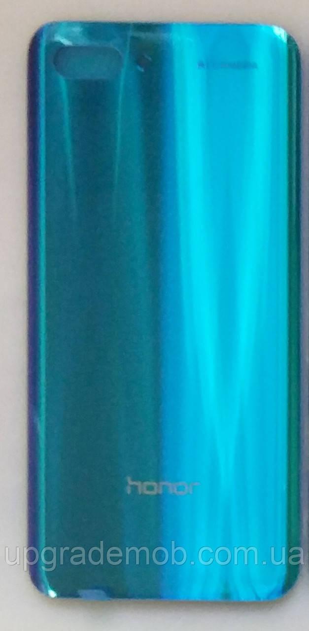 Задняя крышка Honor 10 COL-L29, синяя, Phantom Blue, оригинал