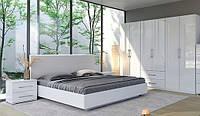 Біла модульна спальня Фемілі, посекційна, фото 1