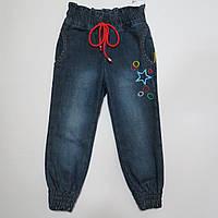 Распродажа!Утеплённые джинсы на флисе для девочки тм Goldy 92р