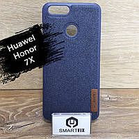 Фактурный силиконовый чехол для Huawei Honor 7x (BND-L21), фото 1
