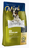 Happy Dog  Mini Neuseeland 4кг корм для собак мелких пород (ягненок,рис)