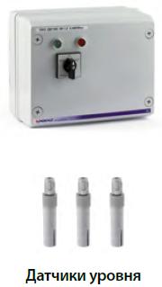 """Пульты управления для скважинных трехфазных насосов 4"""" и 6"""" с датчиками уровня тип QST"""