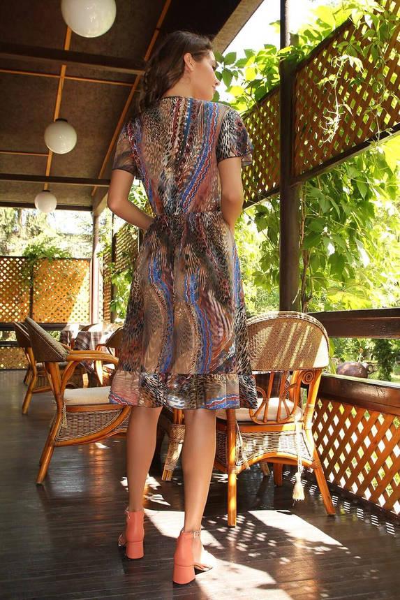 Легкое летнее платье-миди с принтом, S(44), фото 2