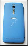 Синий чехол View Flip Cover для смартфона Asus ZenFone 2 ZE551ML, фото 5