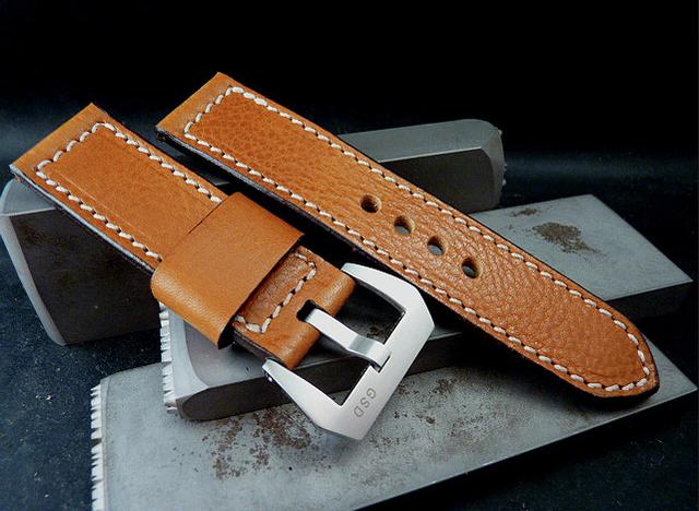 Ремінці для годинників з шкіри під замовлення.