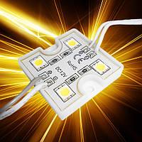 Светодиодный модуль SMD5050-4*0,24W 12V IP65