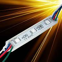 Светодиодный модуль SMD5050-3*0,24W 12V IP65 RGB