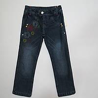 Распродажа!Утеплённые джинсы на флисе для девочек тм Goldy 98р,104р