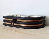 КІТ-ПЕС by smartwood Миски на подставке | Миска-кормушка металлическая для собак щенков  XS - 2 миски EBONY, фото 8