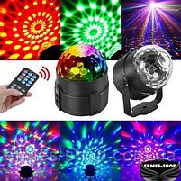Светодиодный диско шар с пультом управления Led Party Light, фото 6