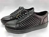 Стильные демисезонные полуботинки под кеды,кроссовки Bertoni, фото 4