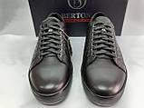 Стильные демисезонные полуботинки под кеды,кроссовки Bertoni, фото 5