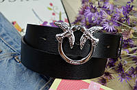 Женский кожаный ремень в стиле Pinko (Пинко)