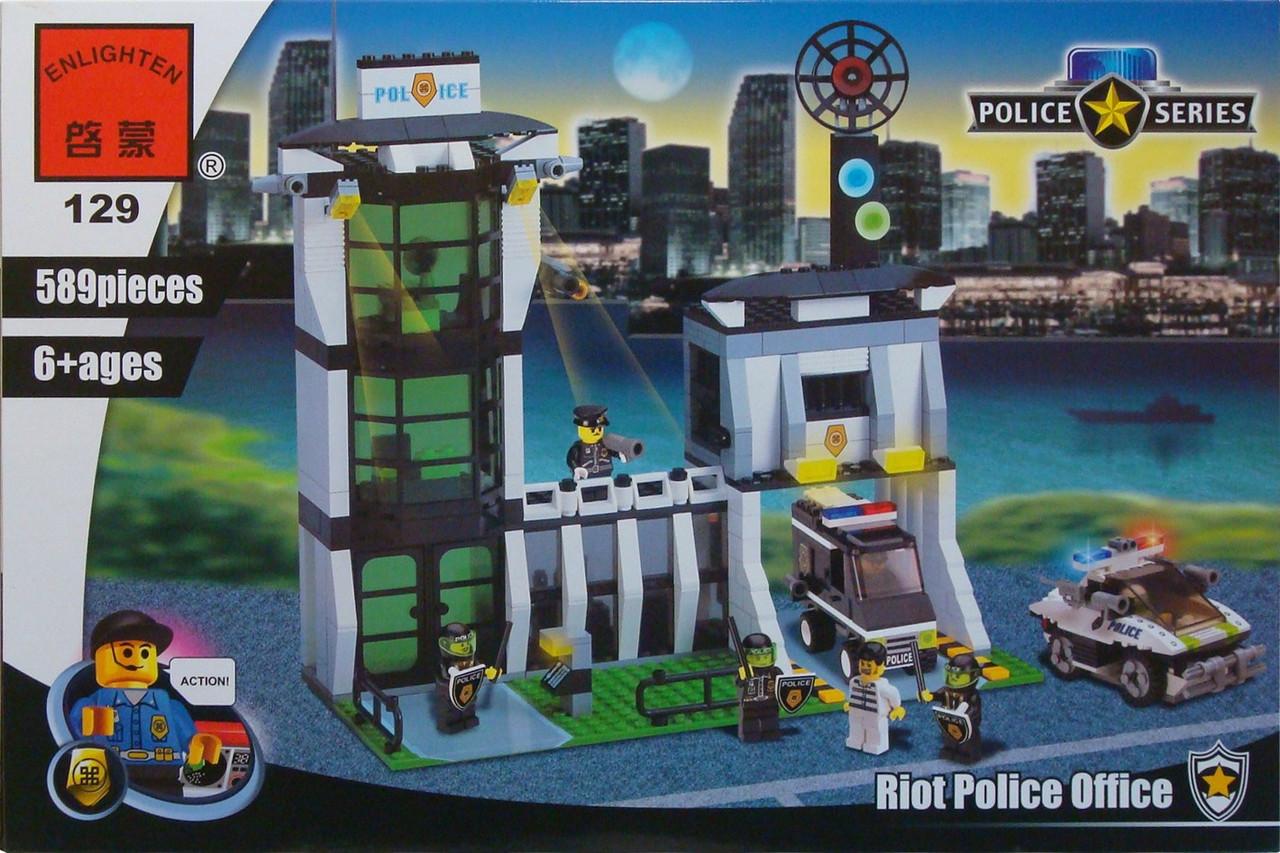 Brick полиция конструктор