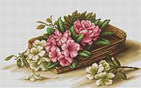 """Набор для вышивания крестом """"Luca-s"""" B510 Корзинка с цветами"""