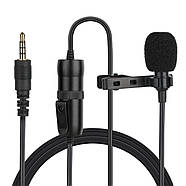 Микрофон для съемки - петличка Puluz PU427 6м (3.5mm), фото 7
