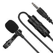 Микрофон для съемки - петличка Puluz PU427 6м (3.5mm), фото 5