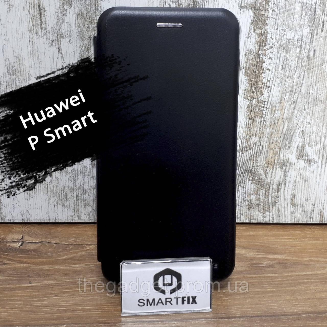 Чехол книжка для Huawei P Smart / Enjoy 7S (FIG-LX1) G-Case Черный