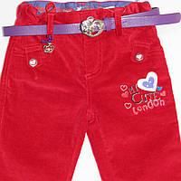 Распродажа!Брюки/вельветы/джинсы для девочки тм Zeplin 80р-104р