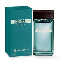 Туалетная Вода Bois de Sauge Yves Rocher 100 ml