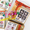 Набор для росписи по номерам полиптих Цветочная нежность Идейка KNP009, фото 2